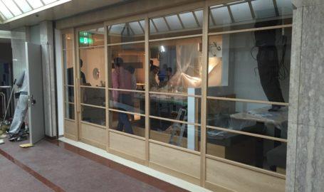 赤坂店舗 建具製作